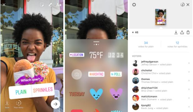 Instagram'da Yeni Özellik, İnteraktif Anket Çıkartmaları, Denedin mi?