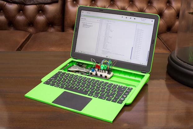 Yeni Raspberry Pi Laptop Modüler Yapısıyla Kodlamayı Öğretiyor