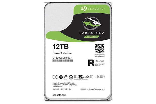 Yeni Seagate BarraCuda 12TB Pro, 4K Video Depolamak Artık Kolay