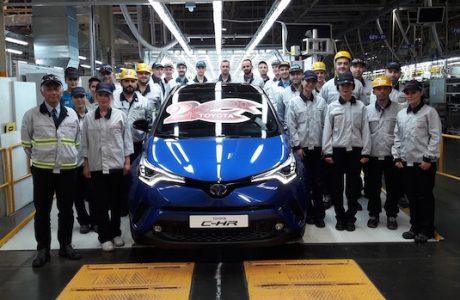 Toyota Türkiye'de 2 Milyonuncu Aracını Üretti, Toyota C-HR Tarihe Geçti