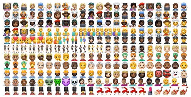 WhatsApp'ın Yeni Evrensel Emoji Seti