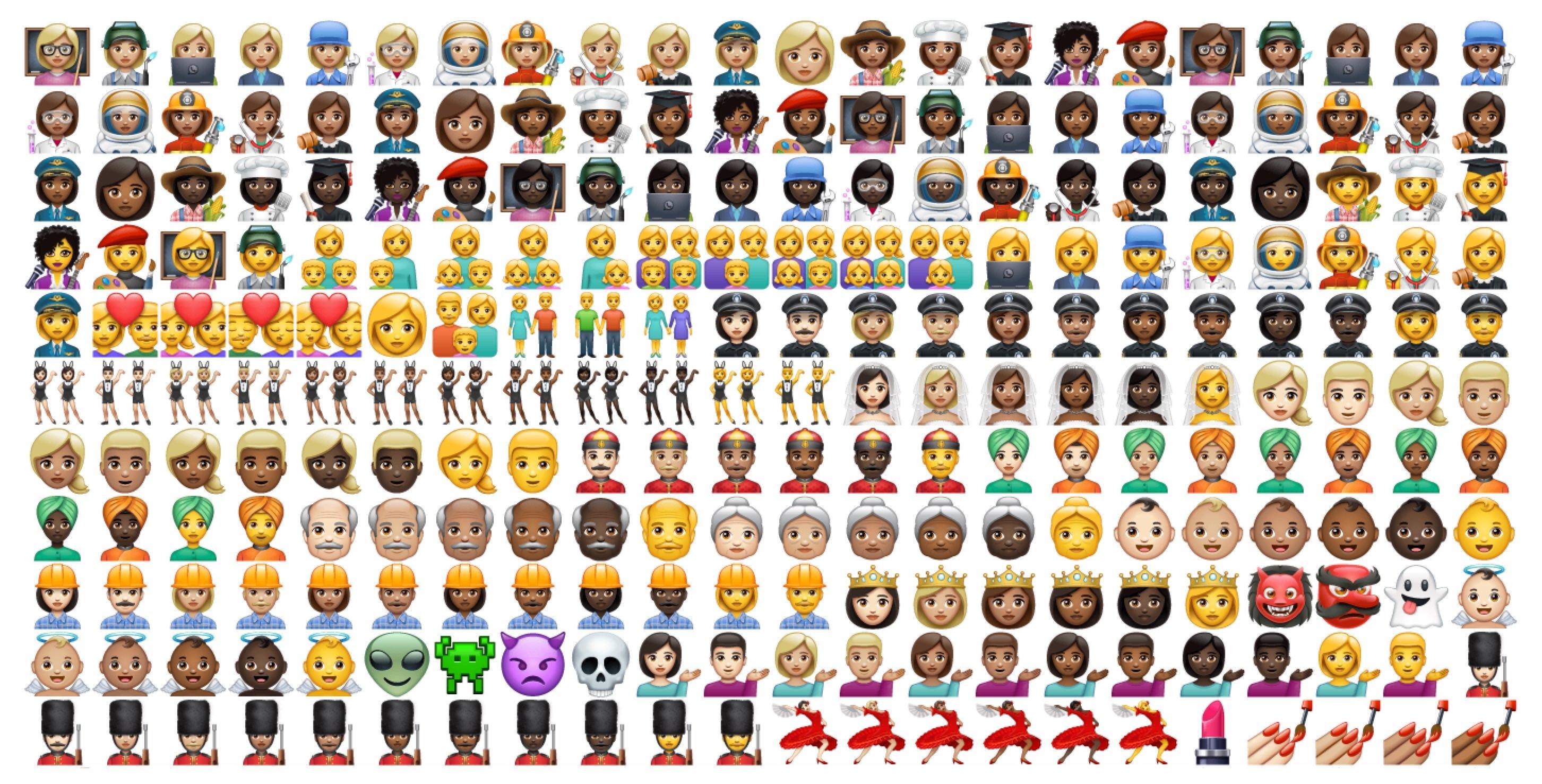 WhatsApp Yeni Evrensel Emoji Seti, Oldukça Tanıdık Hissettiriyor