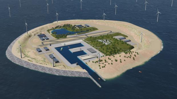 Avrupa'nın Çılgın Temiz Enerji ADASI Projesine Göz Atın
