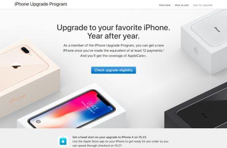 Apple'ın Yenileme Programı iPhone X için Başlangıç Sunuyor