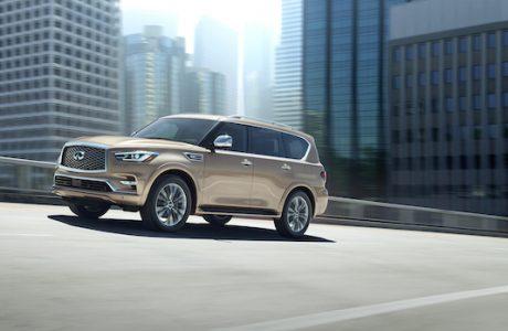 YENİ INFINITI QX80 DUBAI Otomobil Fuarında Tanıtıldı
