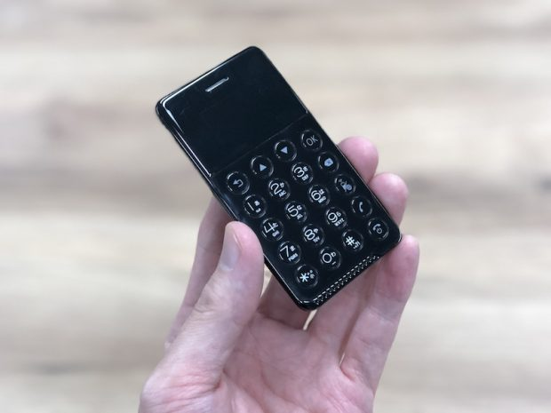 NichePhone-S Android Telefon, Daha Basit, Daha Küçük, Daha İnce