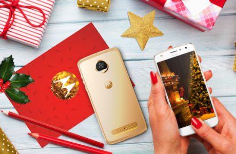 Yılbaşı Hediyeniz Yeni Gold Renkli Motorola Z2 Play Olsun