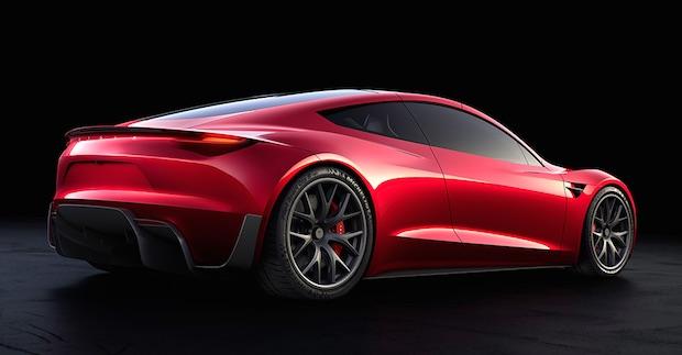 Yeni Tesla Roadster, 0'dan 100'e 1.9 Saniye Sadece 250 Bin Dolar