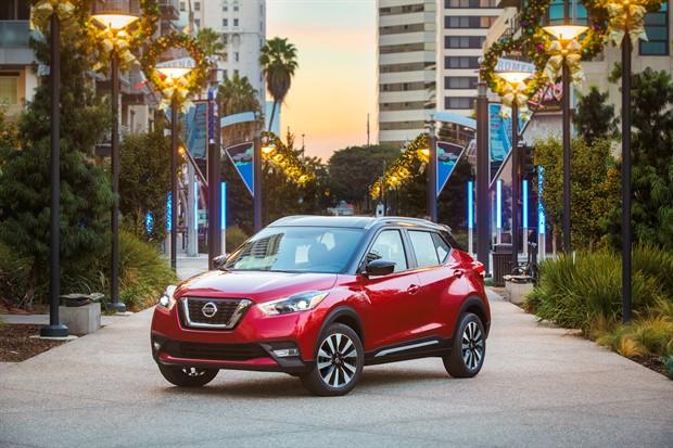 Nissan KICKS, Yeni Kompakt Crossover LA Otomobil Fuarında Tanıtıldı