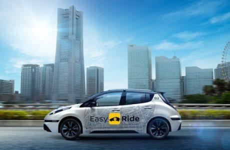 NISSAN Easy Ride, ROBOT TAKSİ, Sürücüsüz Taksi Çözümü Yola Çıkıyor
