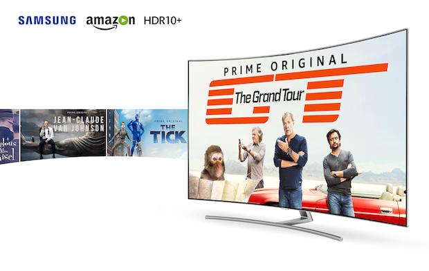 Amazon Prime Video HDR10+, Tüm Samsung 2017 UHD TV Serisinde