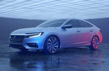 Yeni Honda Insight Protype, Honda'nın Yeni iki Motorlu Hibrit Modeli