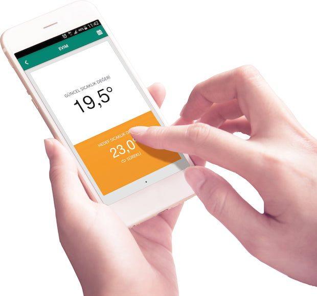 Baymak Connect Akıllı Oda Termostatı Yüzde 30 Tasarruf Sağlıyor