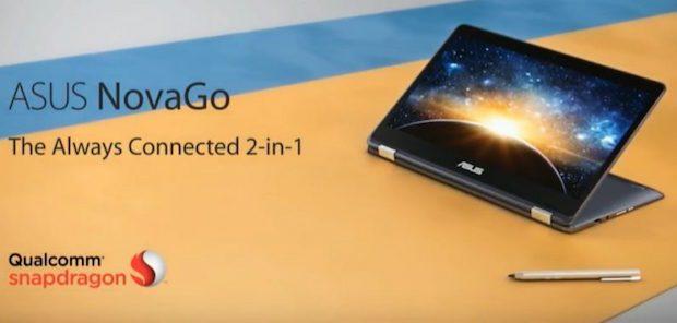 Qualcomm Always On PC Asus NovaGo'yu Duyurdu, 1GB LTE Desteği