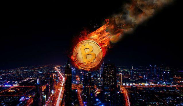 Bitcoin 10 Bin Doların Altına Düştü, Bir Ayda %50 Değer Kaybetti