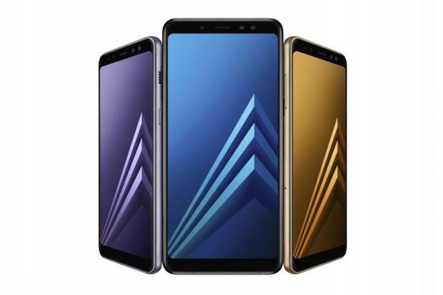 Yeni Samsung Galaxy A8 ve A8 Plus, Çift Selfi Kamerası Bulunuyor