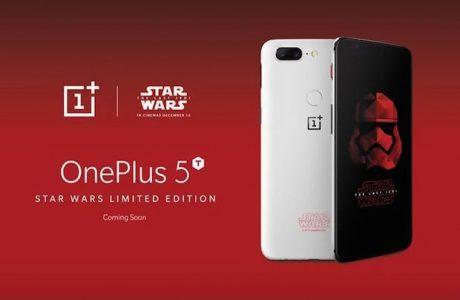 OnePlus 5T Yıldız Savaşları Sürümü ile Karşımıza Çıktı