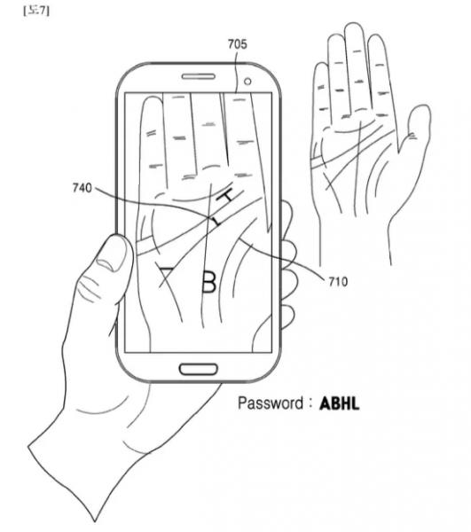 Samsung Avuçiçi Okuma Sistemini Gelecekte Kullanmak İstiyor