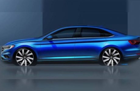 2018 Volkswagen Jetta ilk Görseliyle Arteon'ı Anımsattı