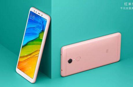 Xiaomi Redmi 5 Satışına Başladı, 18:9 Ekranıyla Sadece 120 Dolar
