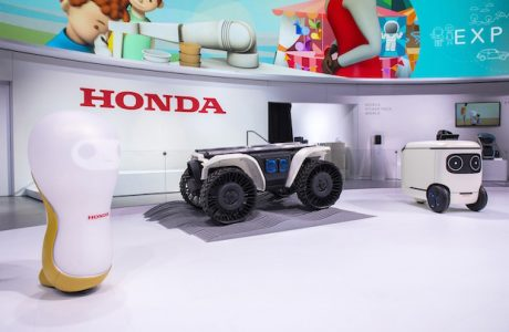 Honda CES 2018 Tüketici Elektroniği Fuarında Teknoloji Şovu Yaptı