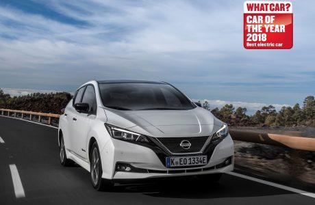 Nissan LEAF 2018 Yılının En İyi Elektrikli Otomobili Seçildi
