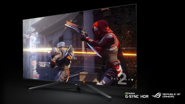 65-inçlik 4K HDR Oyun Ekranı