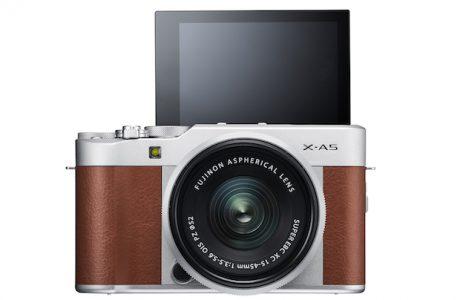 Selfi Dostu FujiFilm X-A5'le Daha Hızlı Odaklanma Getiriyor