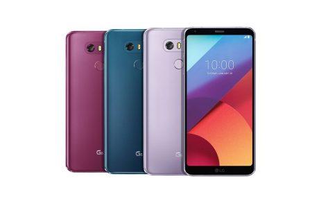 LG G6 ve Q6 için Yeni Renklerini Duyurdu, Sofistike ve Romantik Renkler