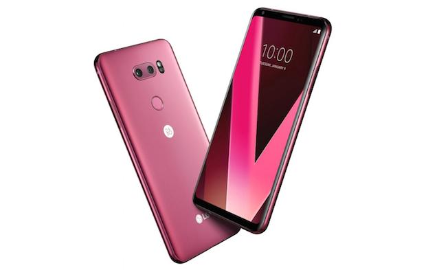 LG V30 Ahududu Kırmızısı, LG V30 Raspberry RED CES 2018'de Geliyor