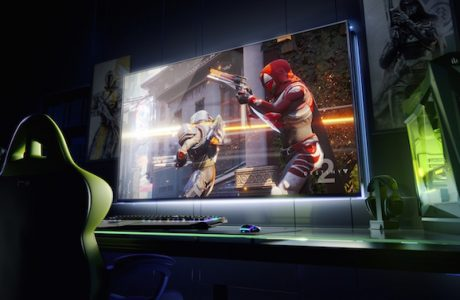 NVIDIA'dan DEV OYUN Ekranı, 65-inçlik 4K HDR Oyun Ekranı