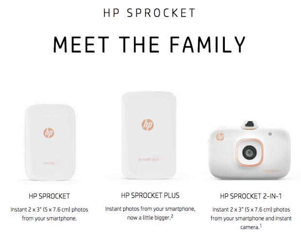 HP Sprocket, Mürekkep Gerektirmeyen Şık ve Küçük Yazıcı