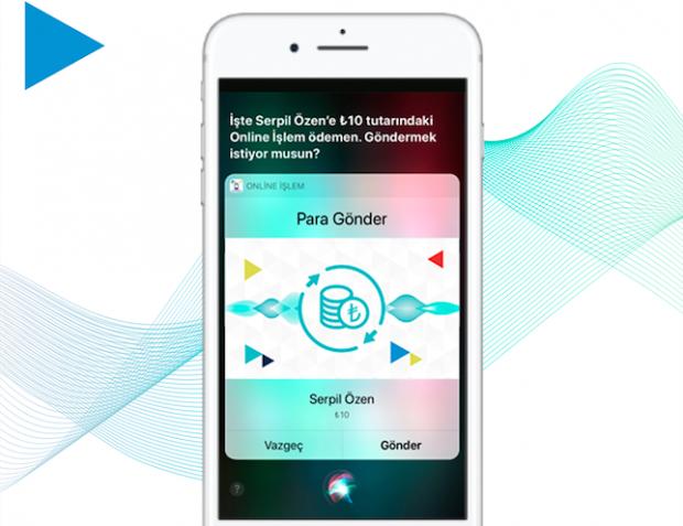 Siri ile Lira Gönderme Teknolojisi Türk Telekom Online İşlemlerde