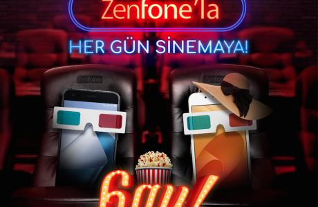 ASUS ZenFone Alana 6 AY Bedava Cinemaximum Sinema Keyfi