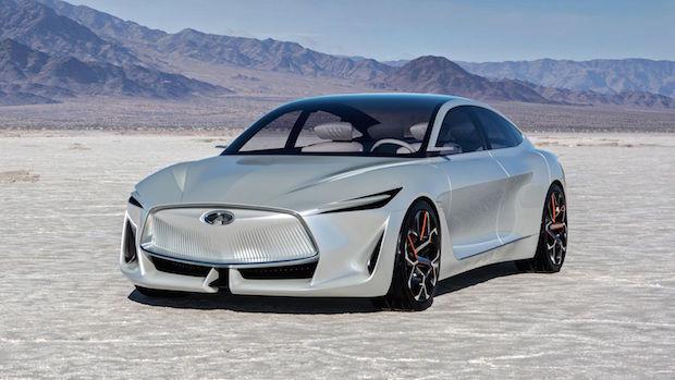 INFINITI Q Inspiration Concept, Yeni Nesil Sedan Otomobil