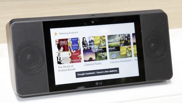 LG Google Asistanı Dokunmatik Ekranlı Hoparlörüne Koydu