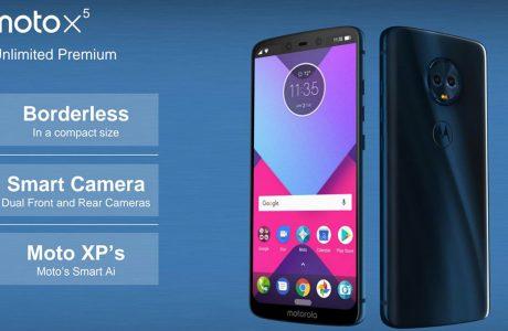 Motorola 2018 Serisi Moto X5 iPhone X Benzeri Özellikler İçerebilir