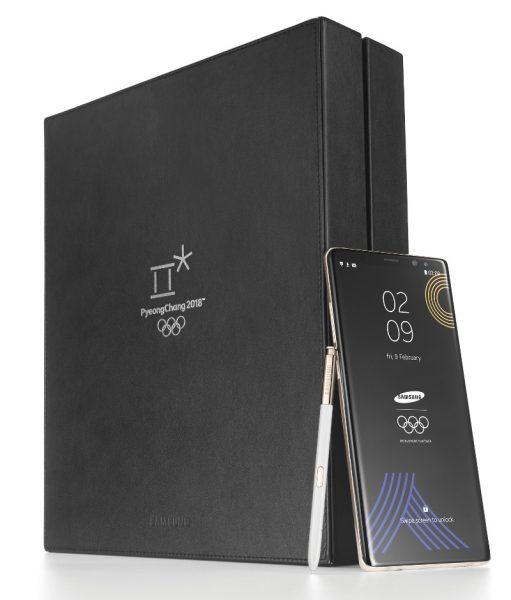 Galaxy Note 8 2018 Winter Olympics Edition