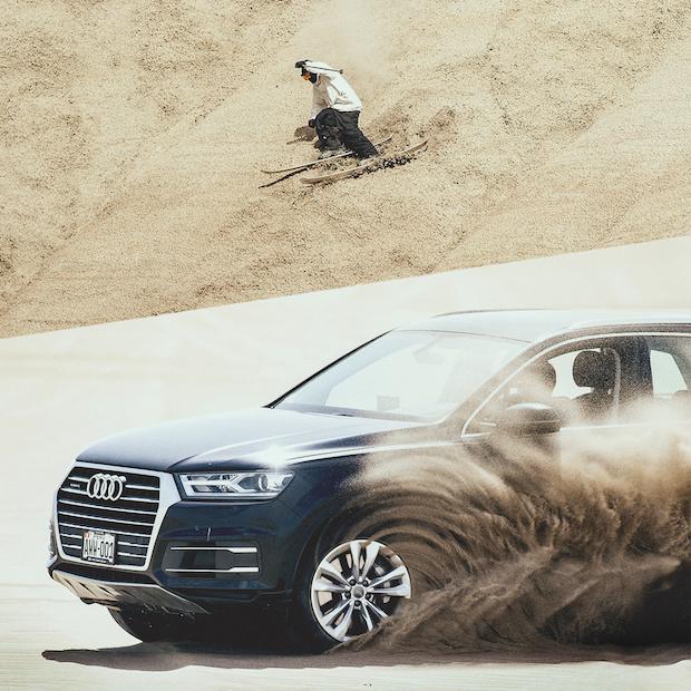 """Audi'nin Peri Bacalı """"Ski The World"""" Video'sunu İzlediniz mi?"""