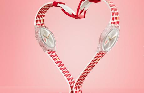 Sevgililer Gününe Özel Swatch, HEARTY LOVE Yağmuru Yağacak