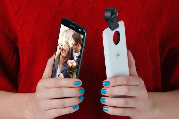 Moto Z ile Sevgililer Günü Anılarınızı 360 Derece Kaydedin