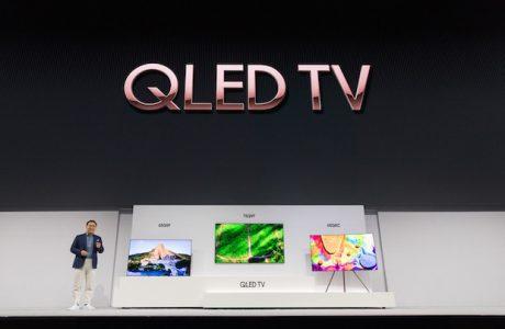 """Yeni Samsung QLED TV 2018 Modelleri, """"Direkt Arka Aydınlatma"""" ve Bixby"""