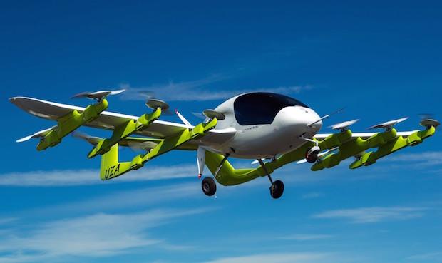 Uçan Taksi CORA Yeni Zelanda'da Havalandı, 2 Kişilik Uçan Araba!