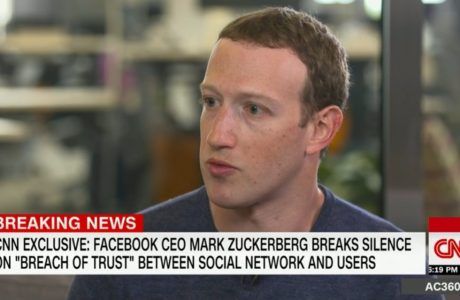 Mark Zuckerberg Cambridge Analytica Skandalı için özür diledi