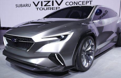 SUBARU VIZIV TOURER 2018 Konsept Cenevre Otomobil Fuarında Tanıtıldı