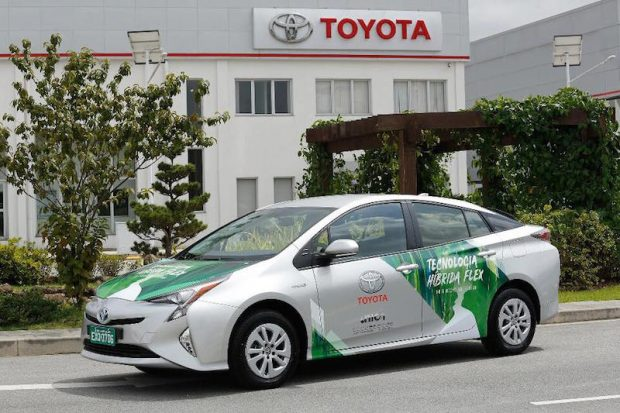 Toyota'nın Yeni Hibrit Aracı Şeker Kamışından Üretilen Yakıt Kullanıyor