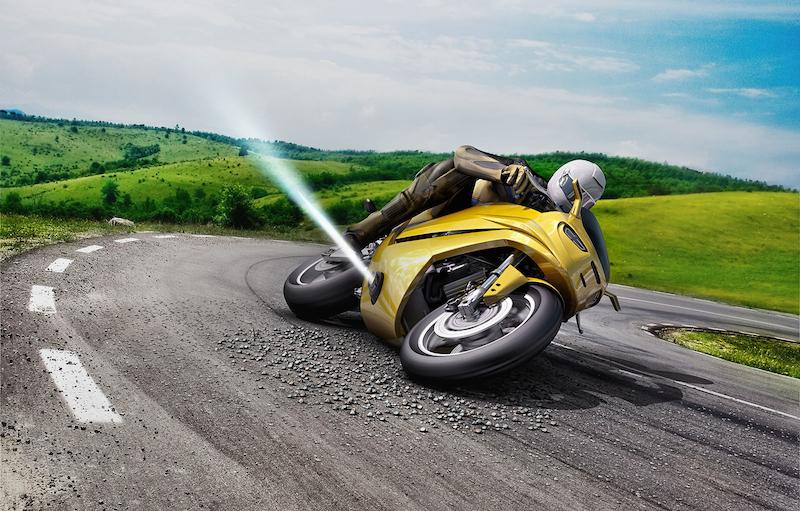 Bosch Jet İTİCİLERİ, Kayan Motorsikleti Düzeltebilir