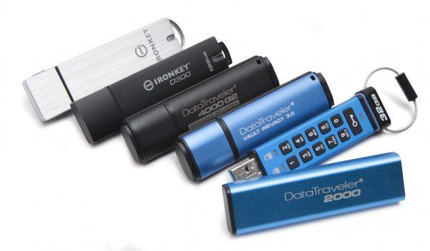 GDPR Uyumlu Şifreli USB 'ler Önem Kazanıyor, IronKey ve DataTraveler