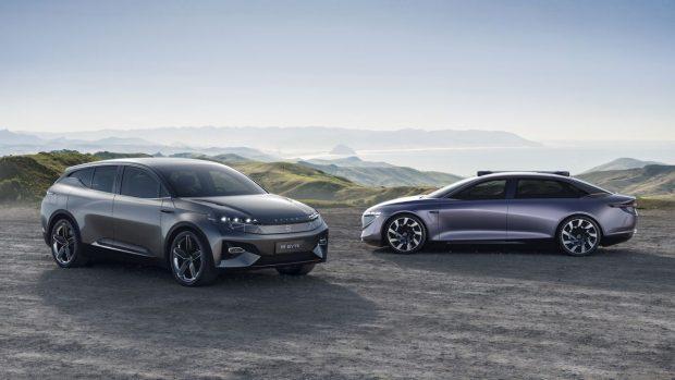 Byton'un Yeni Elektrikli Konsept Otomobili, Özerk ve Lüks bir SEDAN