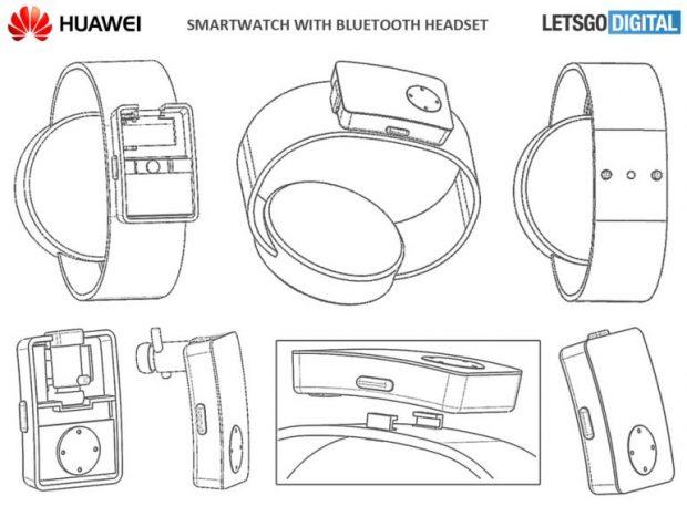Huawei Kablosuz Kulaklık Saklayan Akıllı Saat Planlıyor